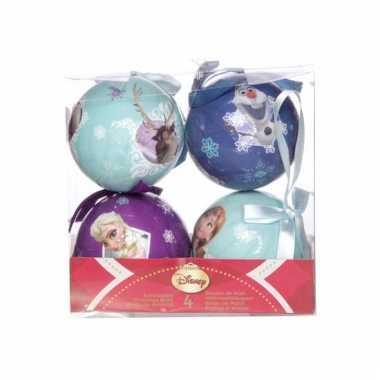 Disney kerstballen frozen 4 stuks