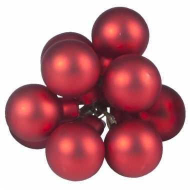 Kerststukjes Kerstballen Rood 10 Stuks Kerstballen Kopen Nl
