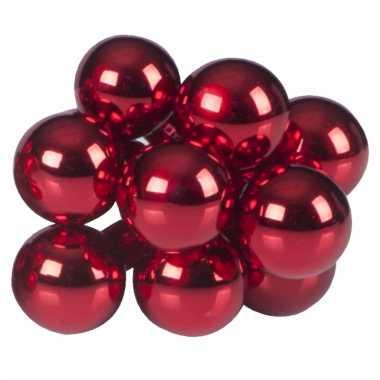 Kerststukjes Mini Kerstballen Rood 10 Stuks Kerstballen Kopen Nl