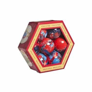 Marvel kerstballen spiderman 7 stuks