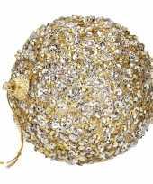 Kerstballen goud 7 cm